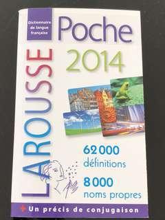 Dictionnaire de langue française  Poche 2014