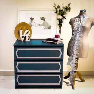 Elegance MALM Furniture Kit Overlay Panels