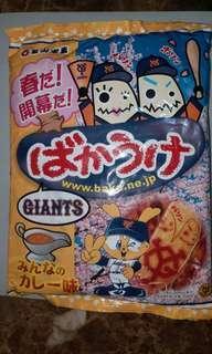 🚚 日本攜回全新未拆【巨人軍 過期15年】的餅乾