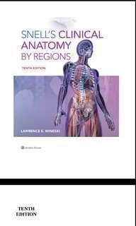 Snell's Clinical Anatomy by Regions 10th