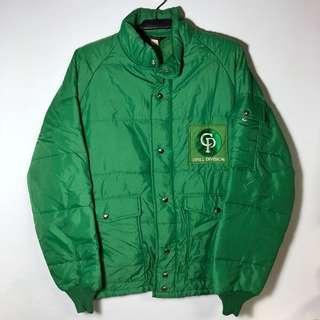 古著 復古 草地綠外套