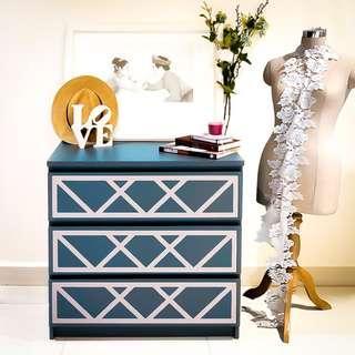 Criss Cross MALM Furniture Kit Overlay Panels