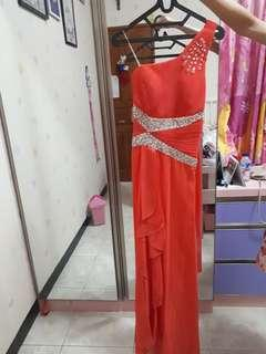 #sharethelove Orange Gown