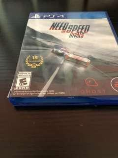 Need for speed rival Ps4 Game