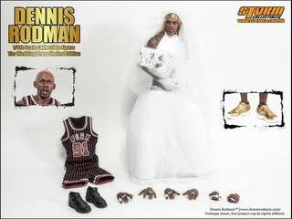 "*MISB* Storm Toys I am Dennis Rodman ""The Wedding Dress"" (Limited Edition 500 sets worldwide) 1/6 scale (not hot toys enterbay) 大虫罗德曼婚纱经典"