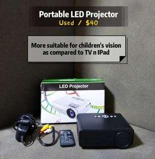 🚚 Mini Led Projector uses once