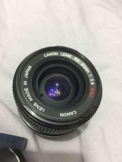 🚚 Canon LENS FD 24mm 1:2.8 S.S.C