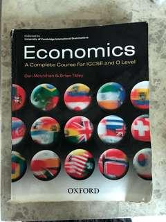 Economics a complete course for IGCSE and O Level