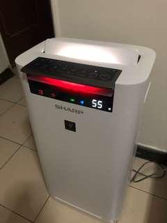 賣夏普空氣清淨機 KC-JH50T-W