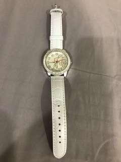 Ladies white watch