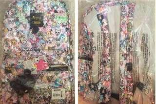 Brand new Tokidoki lesportsac backpack (100% authentic)