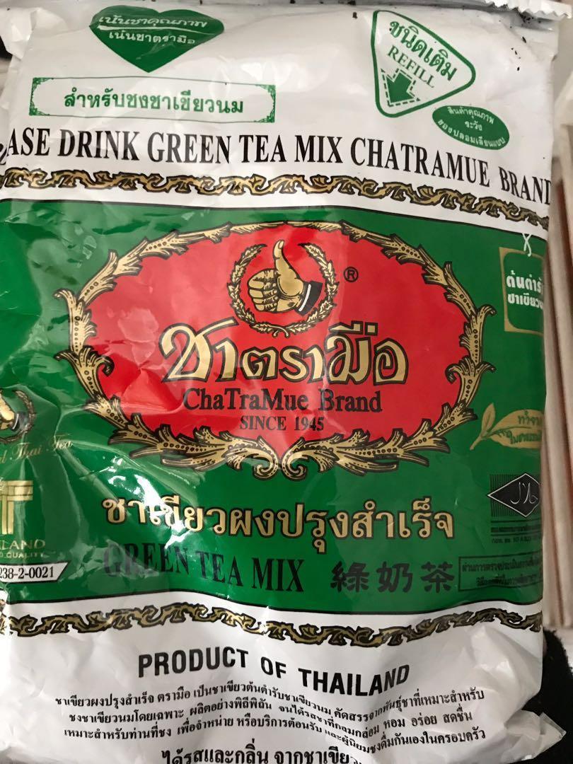 泰式手標茶葉 購自泰國 沖奶茶