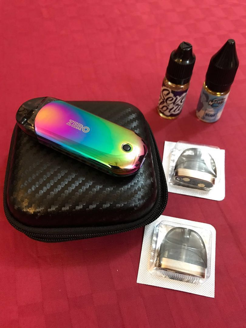 🚬 [CNY SALE] POD VIRAL - VAPERESSO ZERO RENOVA LIMITED EDITION (RAINBOW  COLOUR) FULL SET EXTRA GIFT