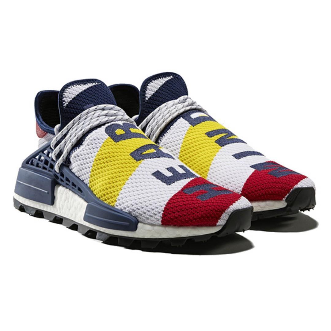 newest 3ad18 5bfa2 STEAL! Adidas NMD Human Race Pharrell x BBC Multi-Color ...