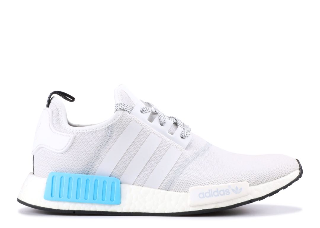e37967fdff00 Adidas NMD Women s (Light Grey and Cyan)
