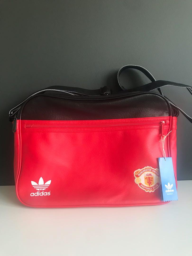 c799c9b87714 Adidas Original Manchester United Airline Sling Bag