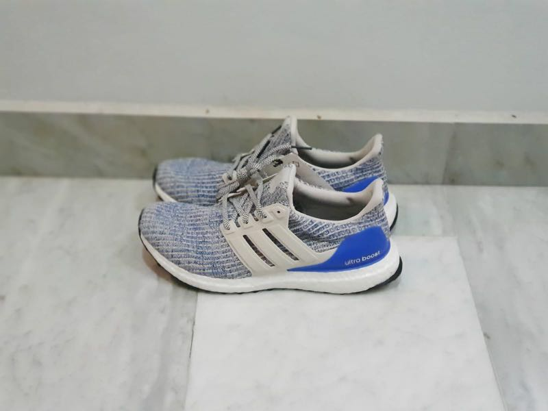 competitive price 00230 cebb0 Adidas UltraBOOST 4.0 (Blue Heel), Men s Fashion, Footwear, Sneakers on  Carousell