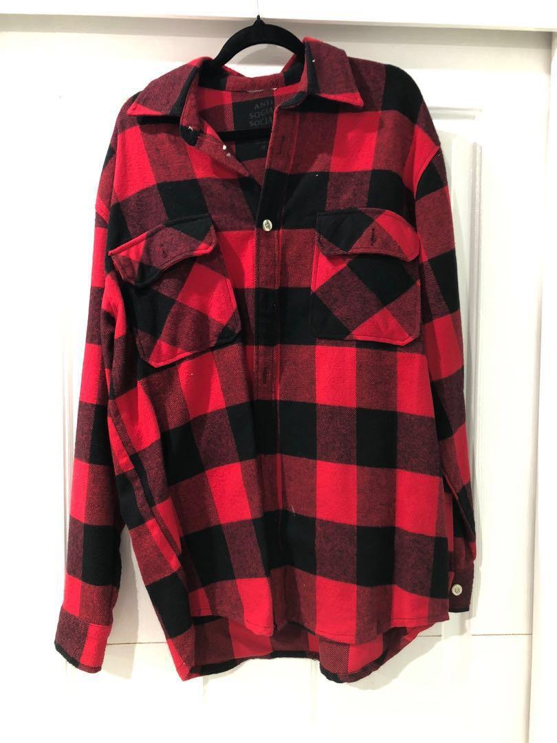 Anti Social Social Club Flannel