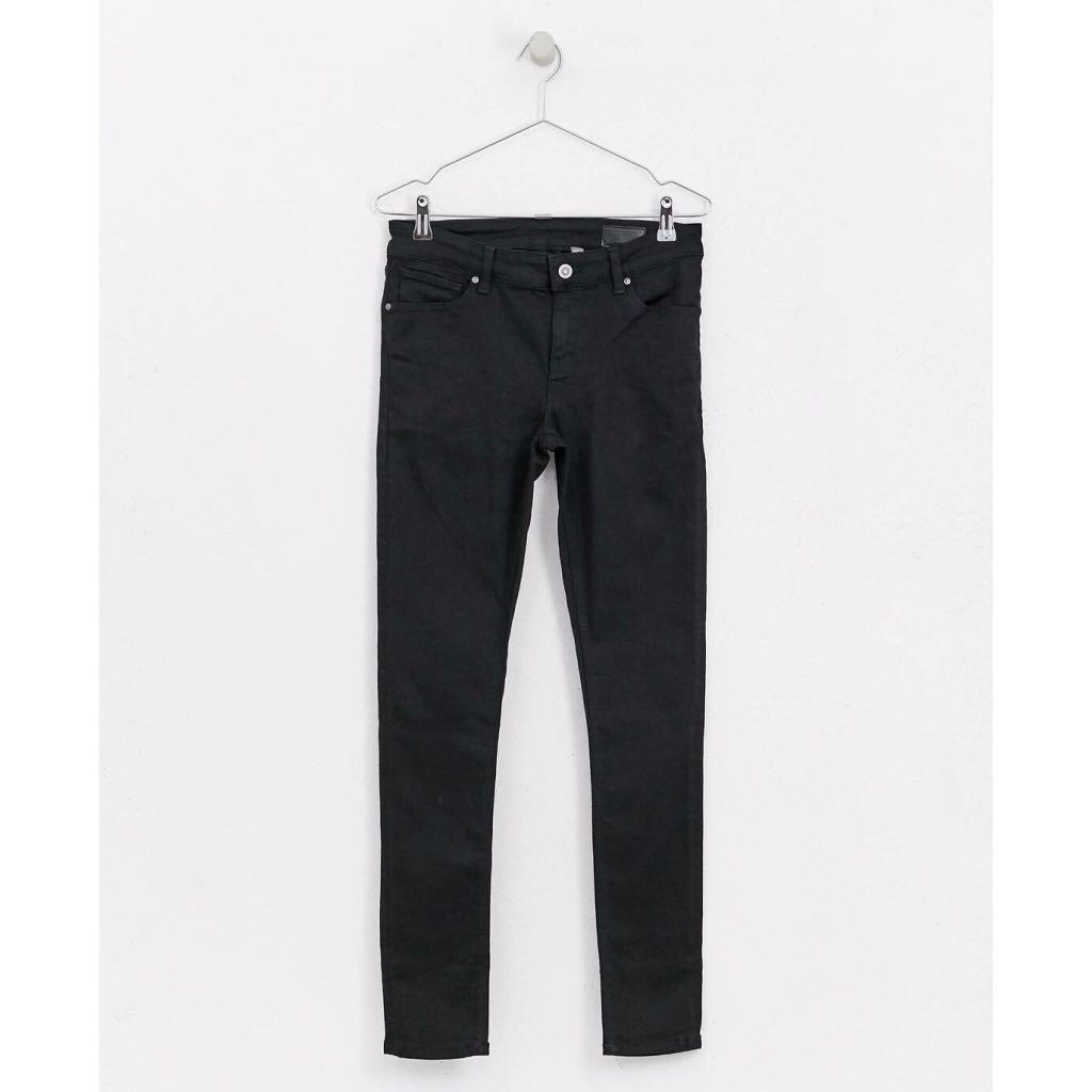 0ba06130e Asos Design Extreme Super Skinny Jeans Black on Carousell
