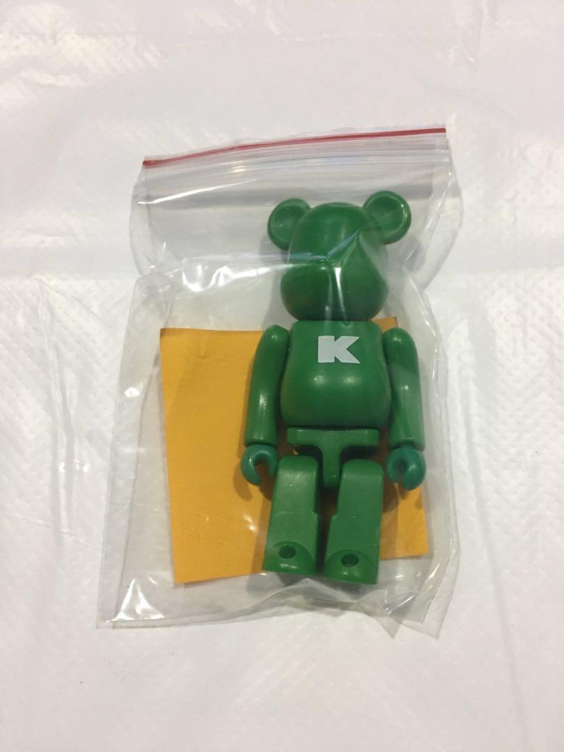 38af2788 BE@RBRICK 100% - Series 6 - Basic (Letter K), Toys & Games, Bricks &  Figurines on Carousell