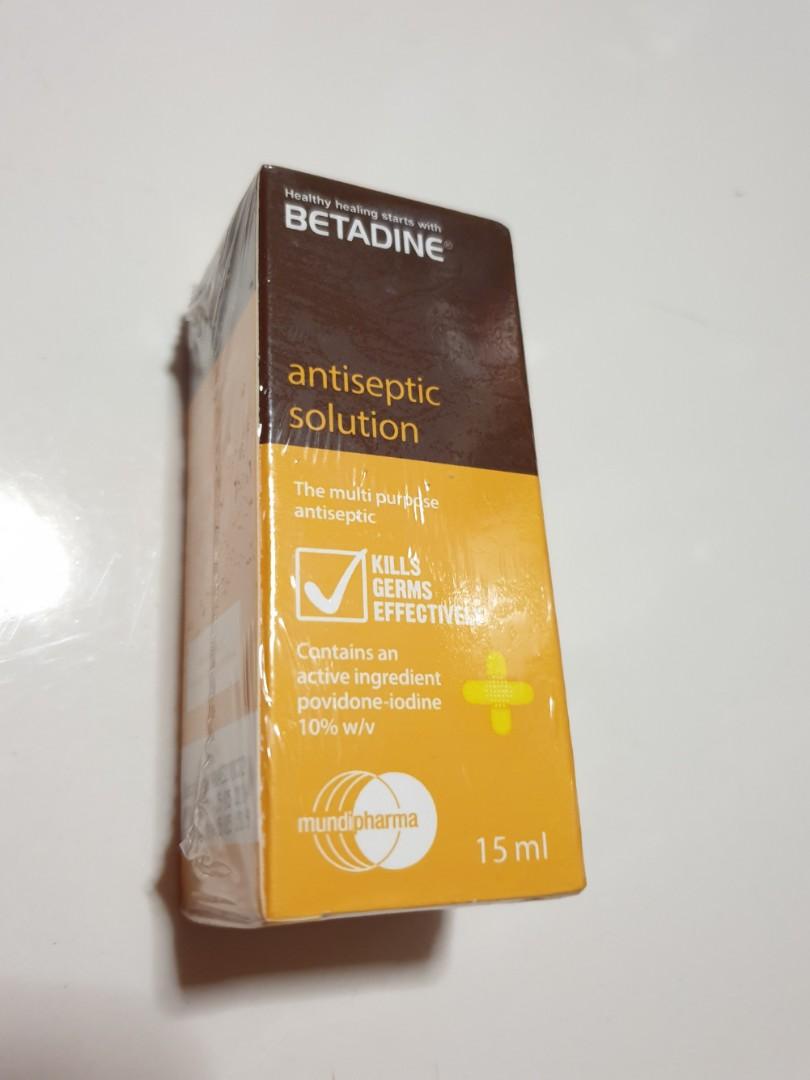 Betadine Antiseptic Solution - sealed