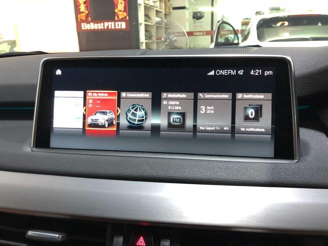 BMW NBT EVO ID6 Retrofit, Upgrade, CarPlay, Live Traffic