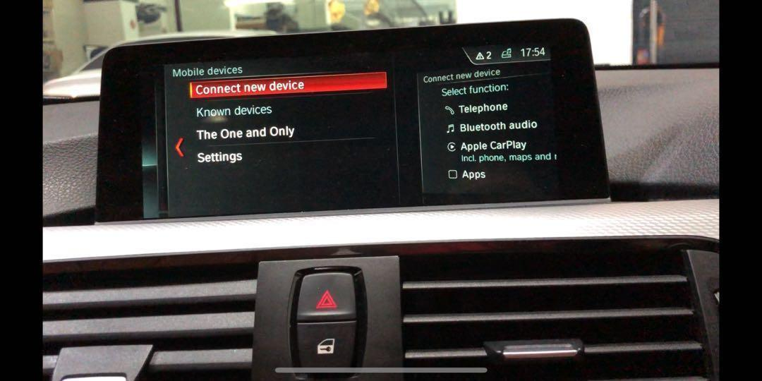 BMW NBT EVO ID6 Retrofit, Upgrade, CarPlay, Live Traffic