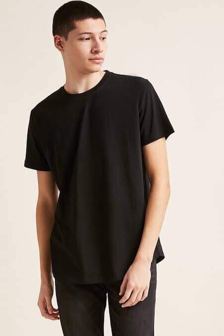 Bnwt Forever 21 Men Plain Longline Shirt Men S Fashion Clothes