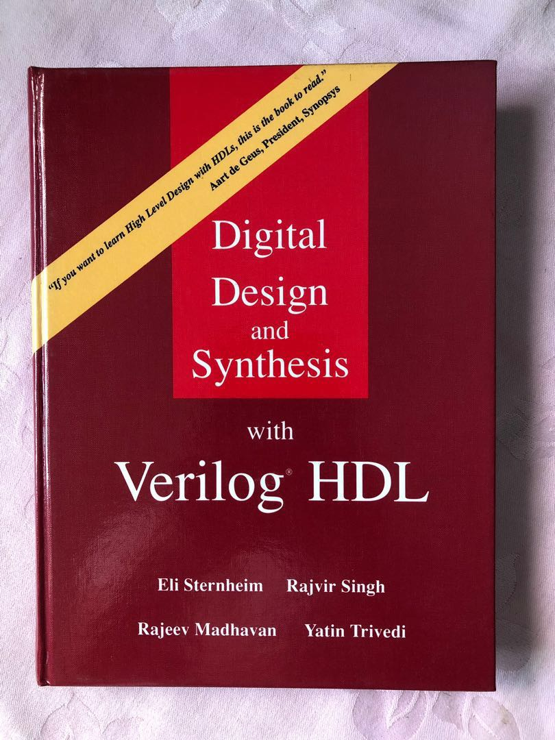 """Book """"Digital Design and Synthesis with Verilog HDL"""""""