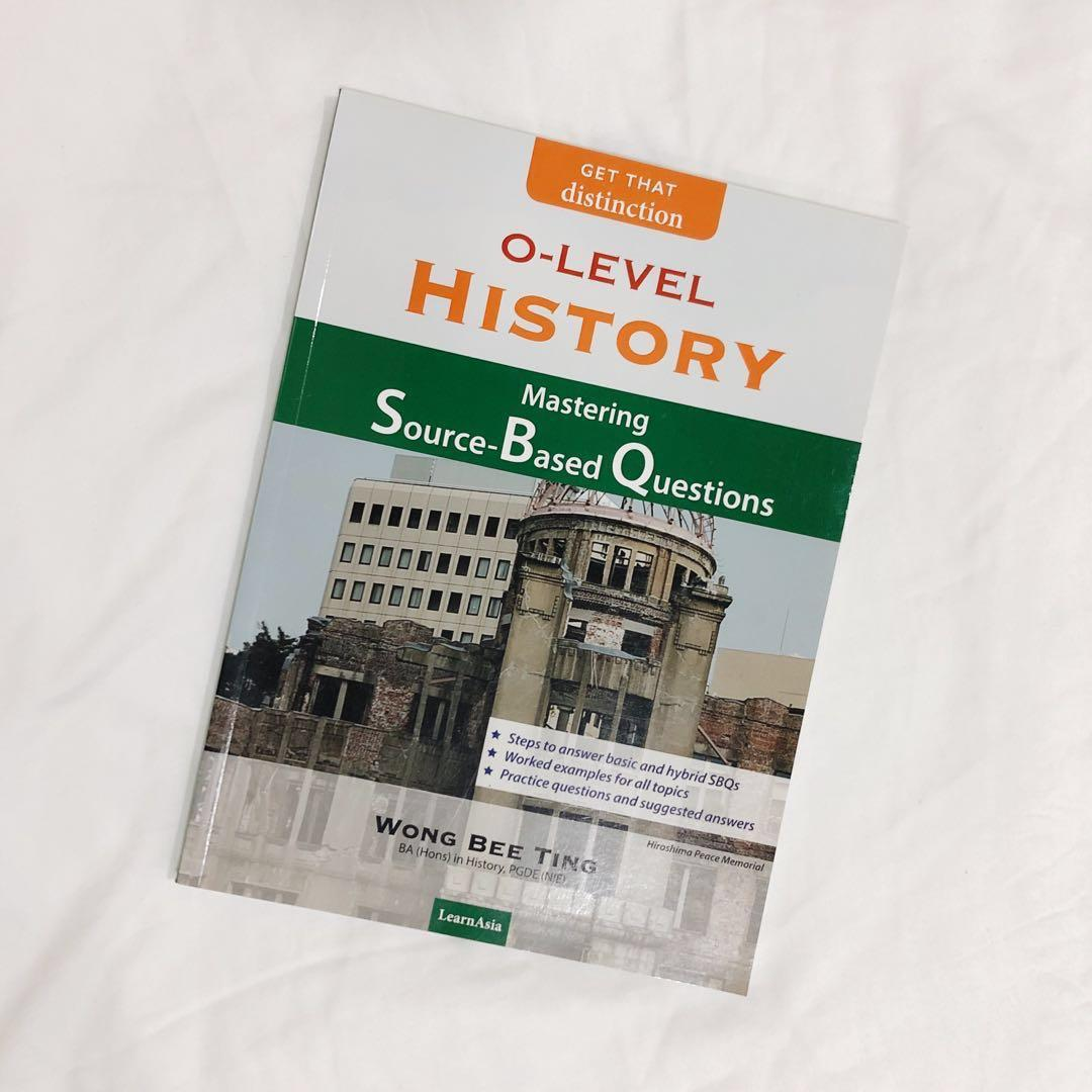brand new! o-level history: mastering source-based questions #springcleanandcarousell50