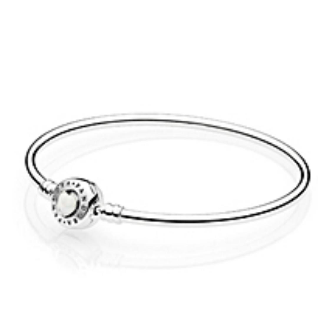 Brand New Pandora Bangle You Are So Loved For Valentine S Day Women S Fashion Watches Accessories Other Accessories On Carousell