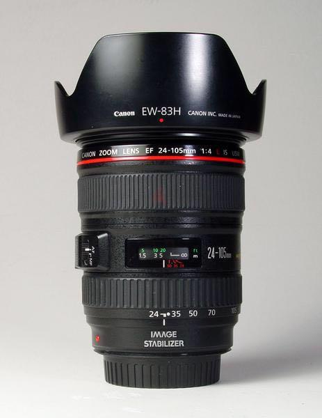 Canon 24-105 F4L like new condition