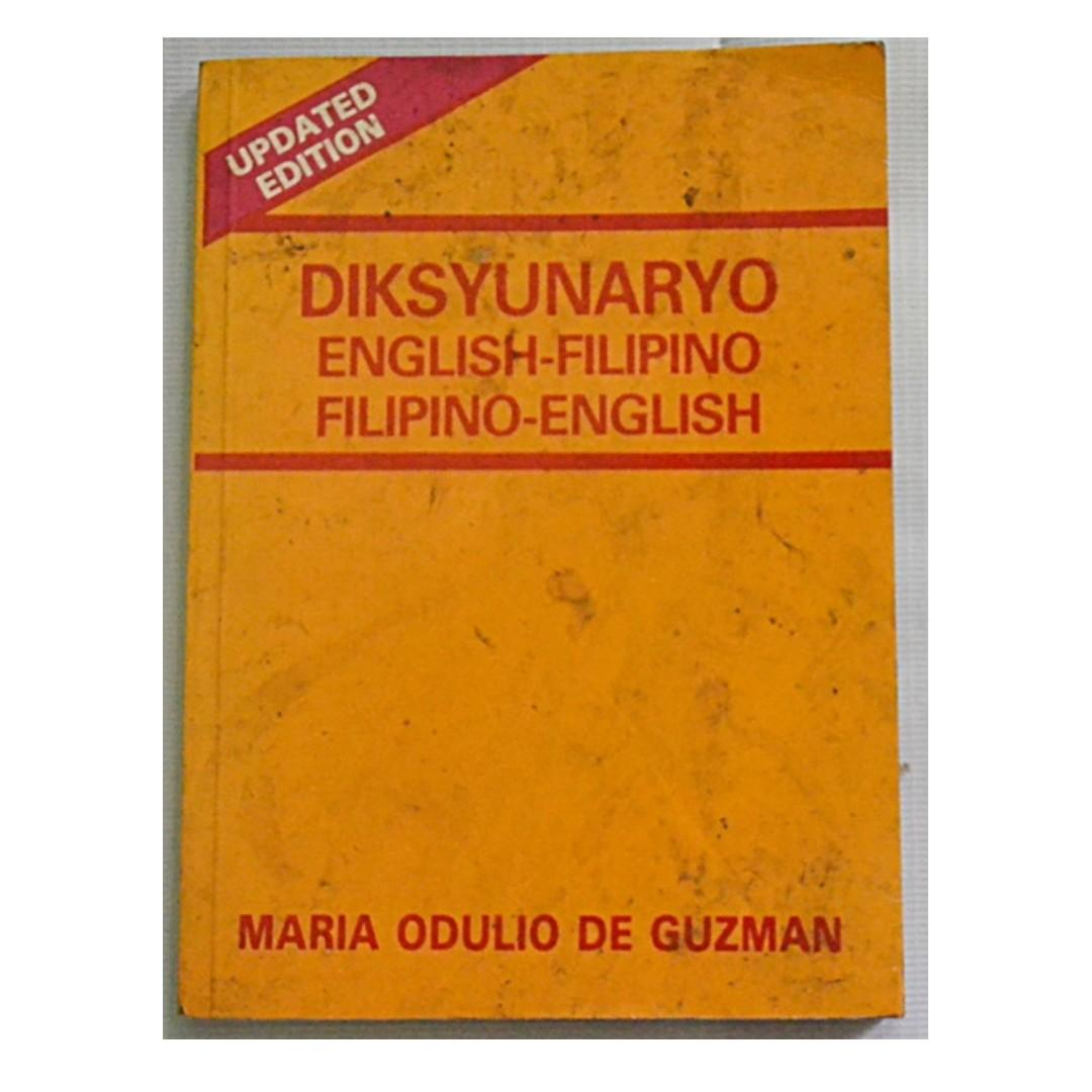 Diksyunaryo English - Filipino / Filipino - English