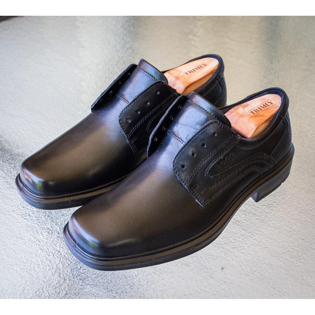 60e3c559a9 ECCO Helsinki Plain Toe Tie Mens shoe (size 40), Men's Fashion ...