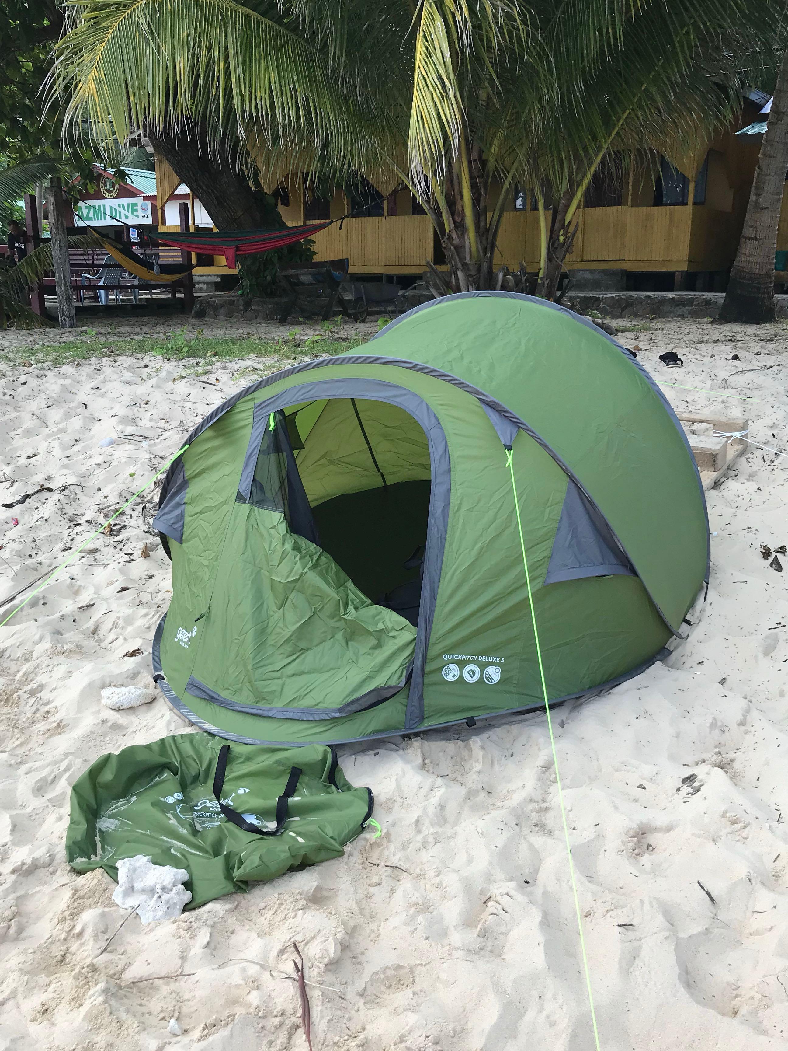 size 40 71517 31bb1 Gelert Quickpitch Pop Up Tent / Kemah