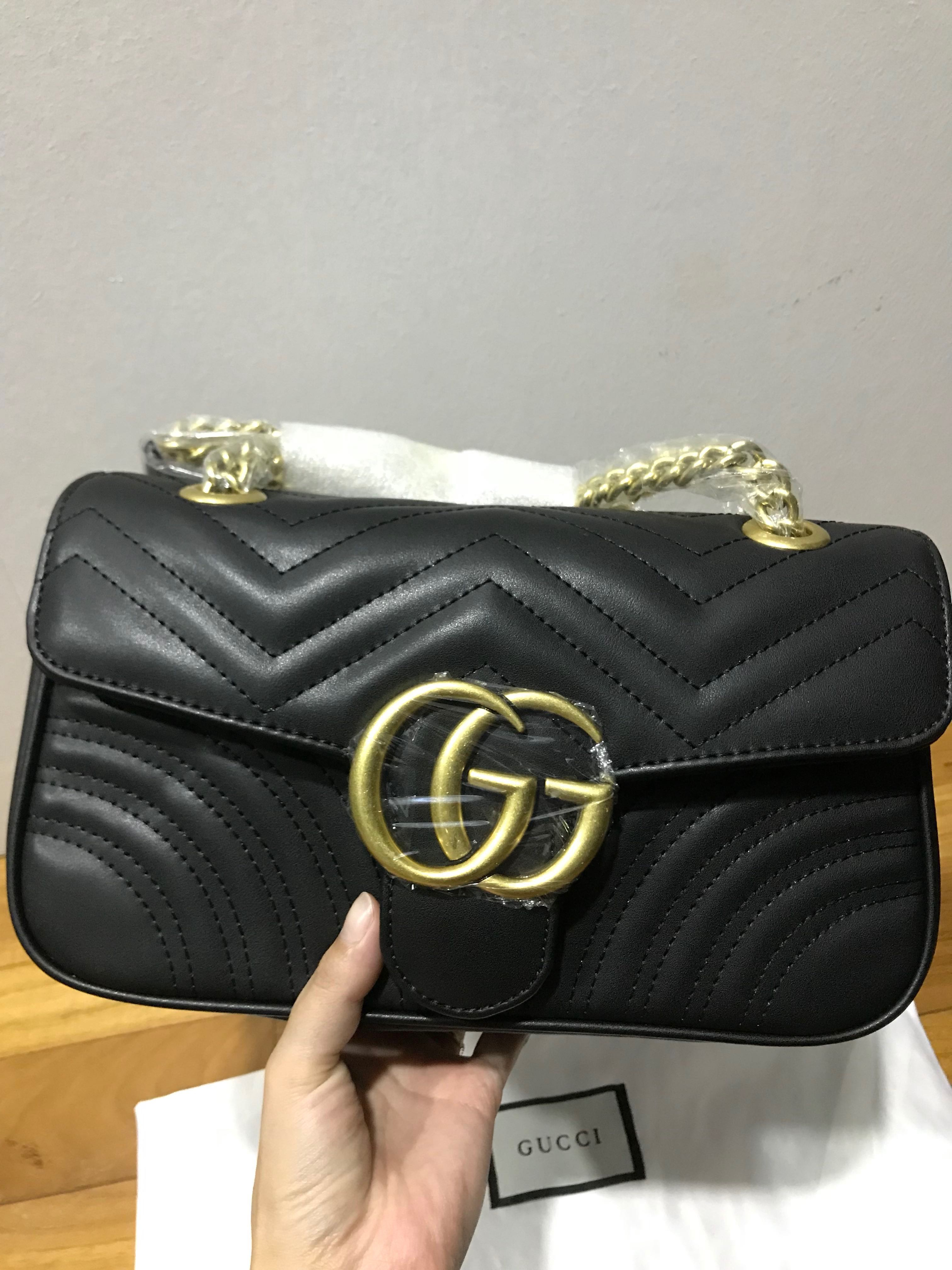 c7889d10480013 Gucci marmont sling bag , Luxury, Bags & Wallets, Sling Bags on Carousell