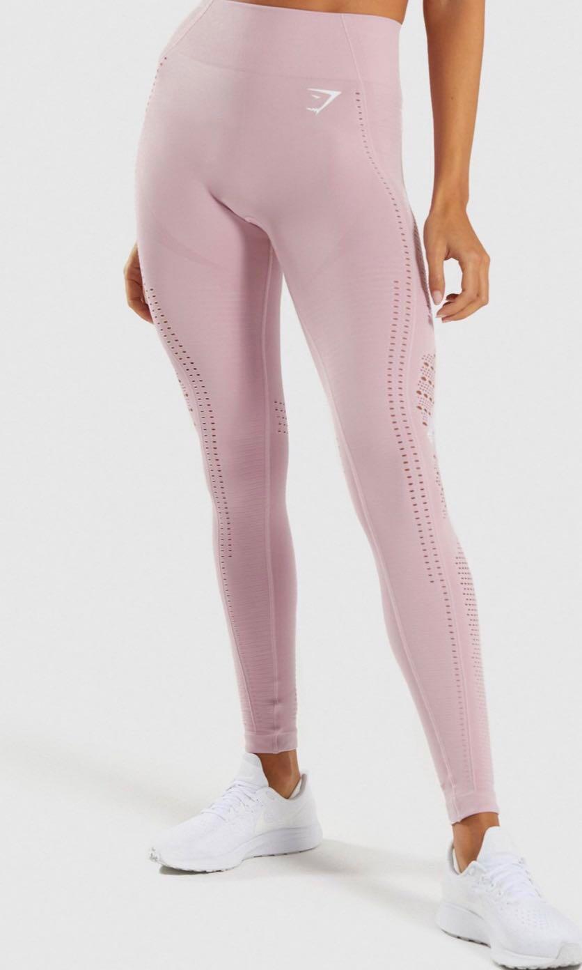 c2dfe37b035a5 Gymshark flawless knit leggings (size S), Sports, Sports Apparel on ...