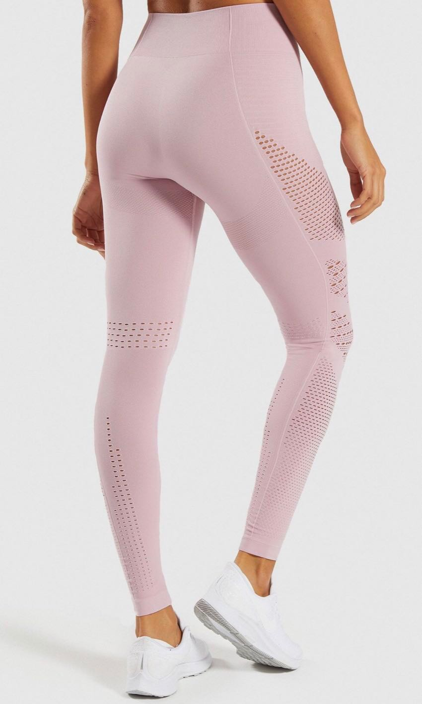 bf72bd3aa215e Gymshark flawless knit leggings (size S), Sports, Sports Apparel on  Carousell