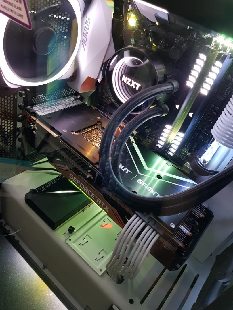 High end Gaming rig with rtx 2080ti for sale, Electronics