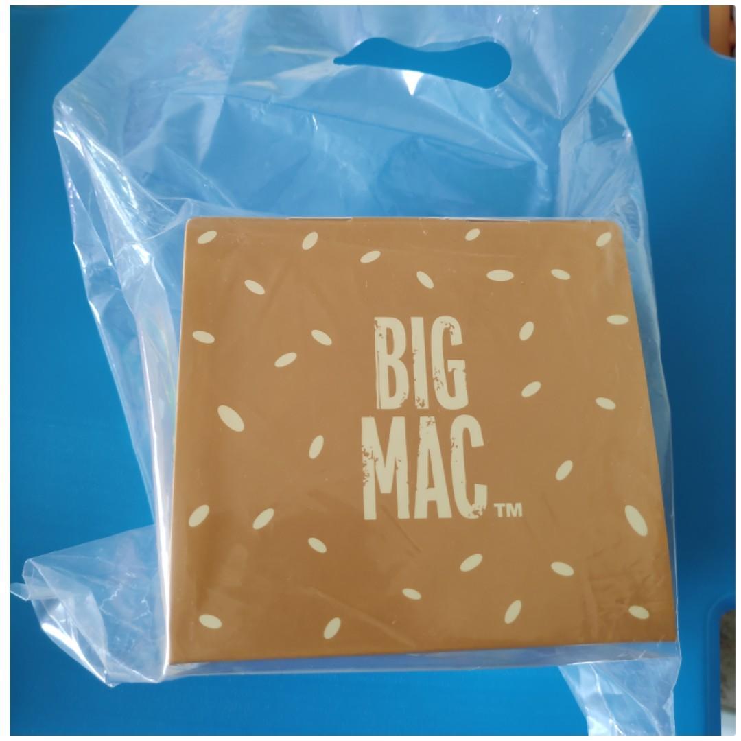 Hong Kong McDonald's Big Mac 50th Anniversary Limited Edition Lunch Box