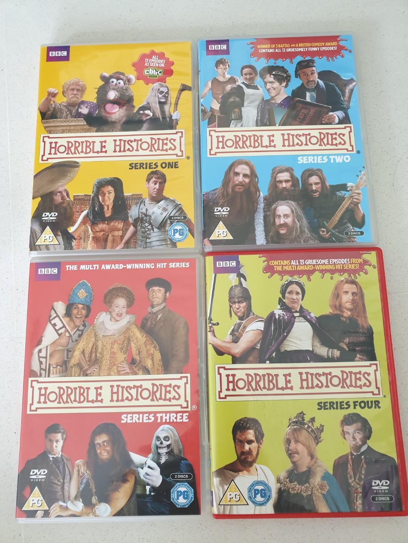 Horrible Histories Series 1-4 DVD [Region 2]