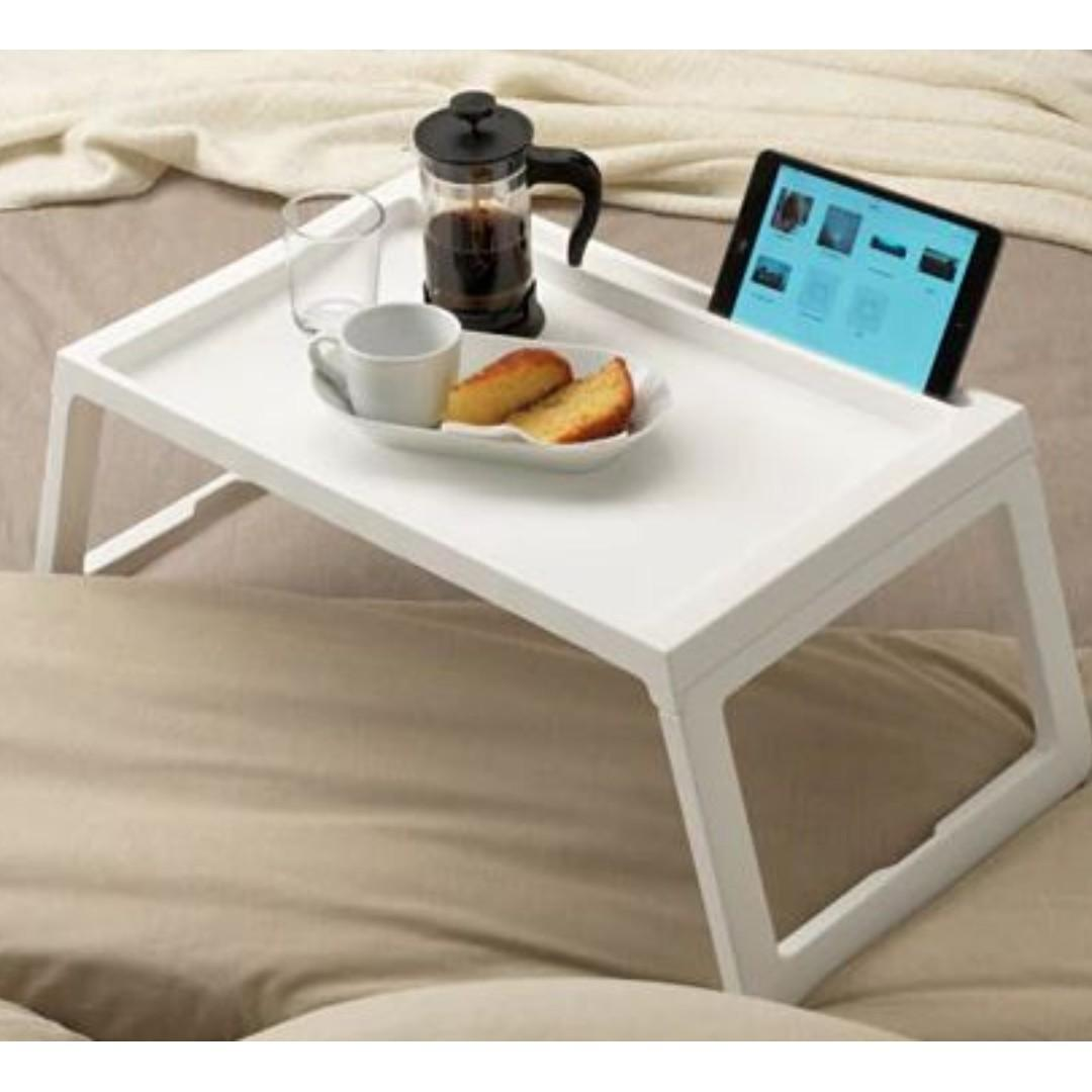 Ikea KLIPSK Bed tray Bed foldable table