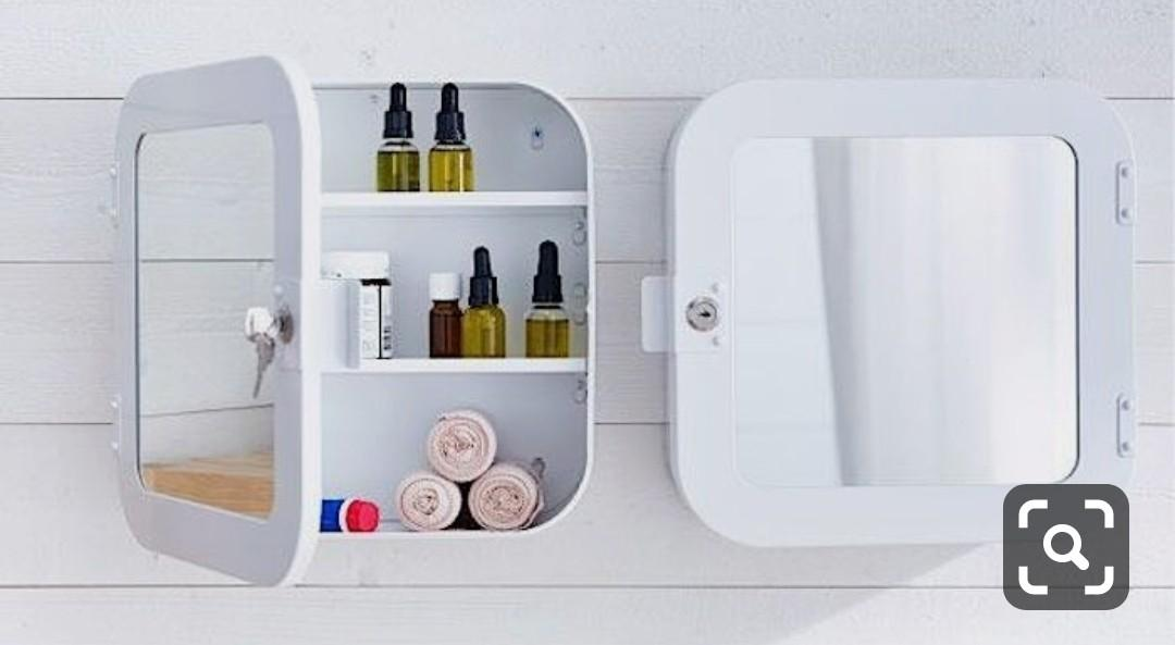 Ikea Medicine Cabinet With Mirror Furniture Home Decor Others On Carousell