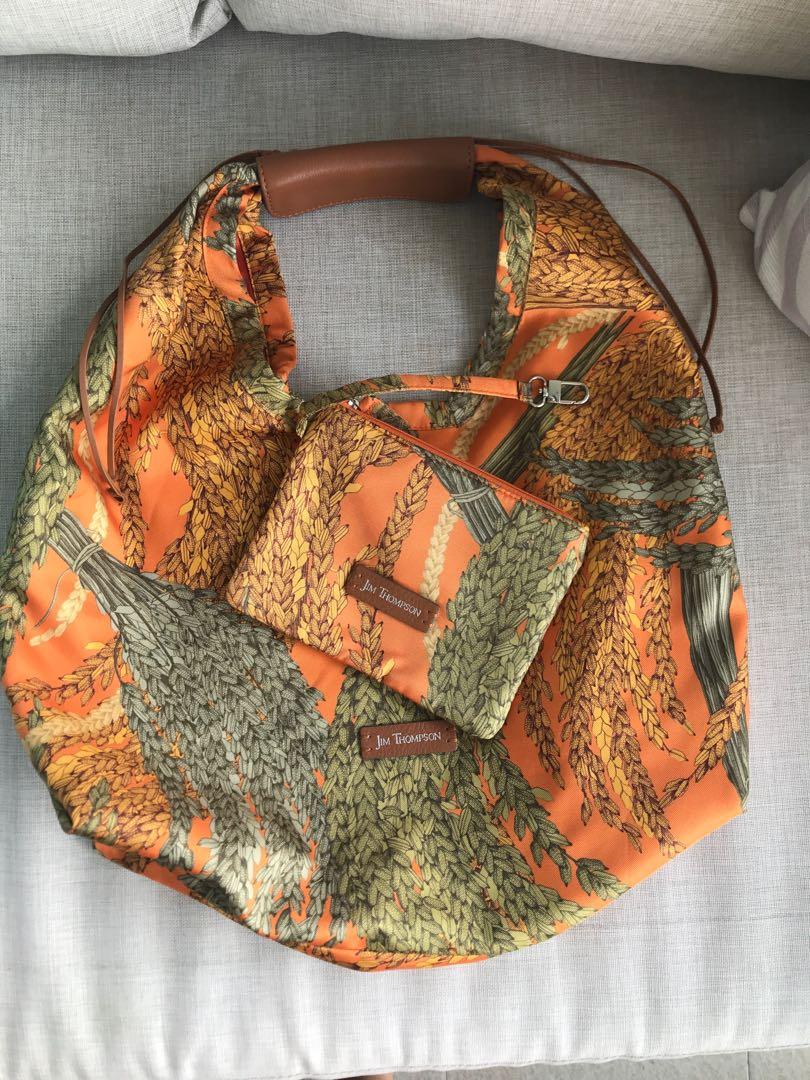 fd3efb4639c Jim Thompson Hobo Bag, Women's Fashion, Bags & Wallets, Handbags on ...