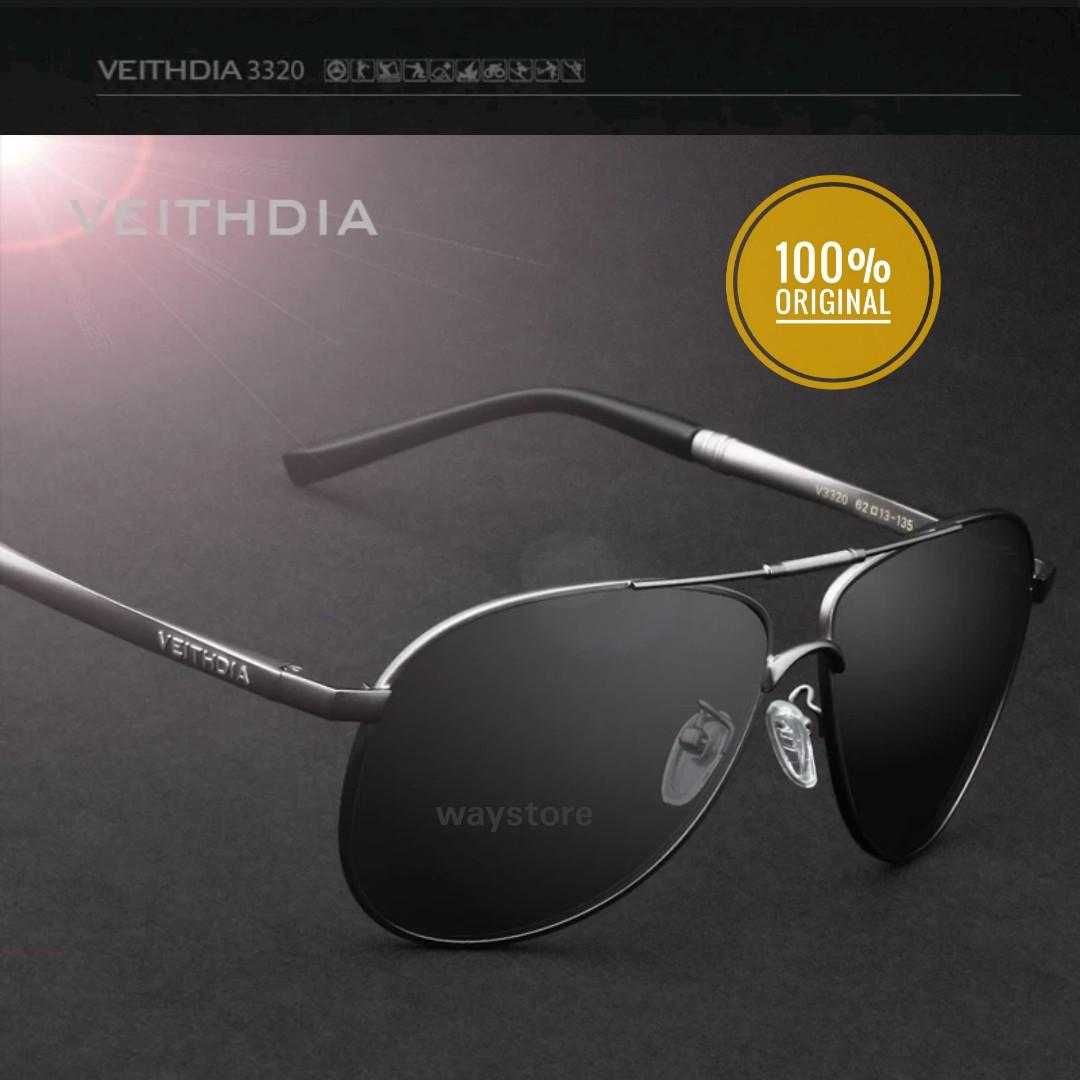 19429ec0b7 kacamata polarized antiUV antisilau ORIGINAL brand design VEITHDIA ...