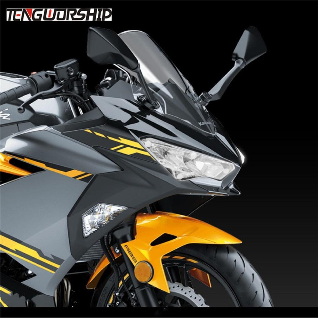 Kawasaki Ninja 400 Ninja400 headlight head light transparent