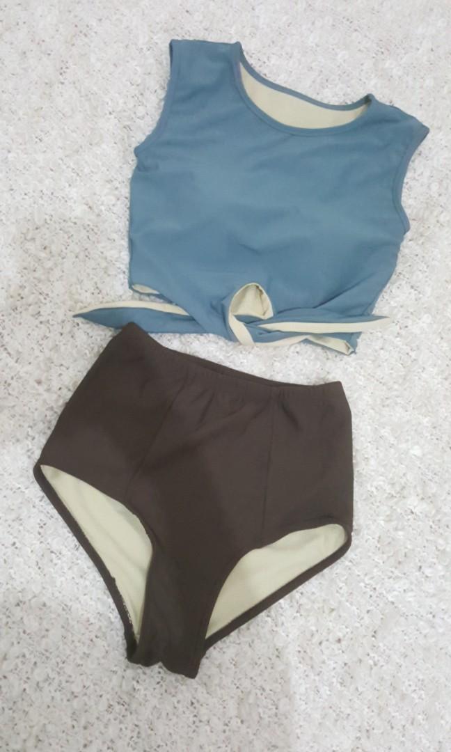 Korean Cropped Bikini