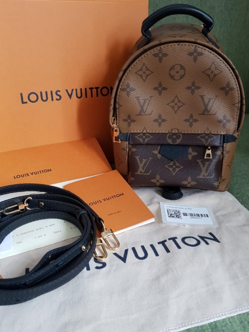 b302b8469c17f Louis Vuitton LV Palmsprings Palm Spring Mini Reverse Monogram ...