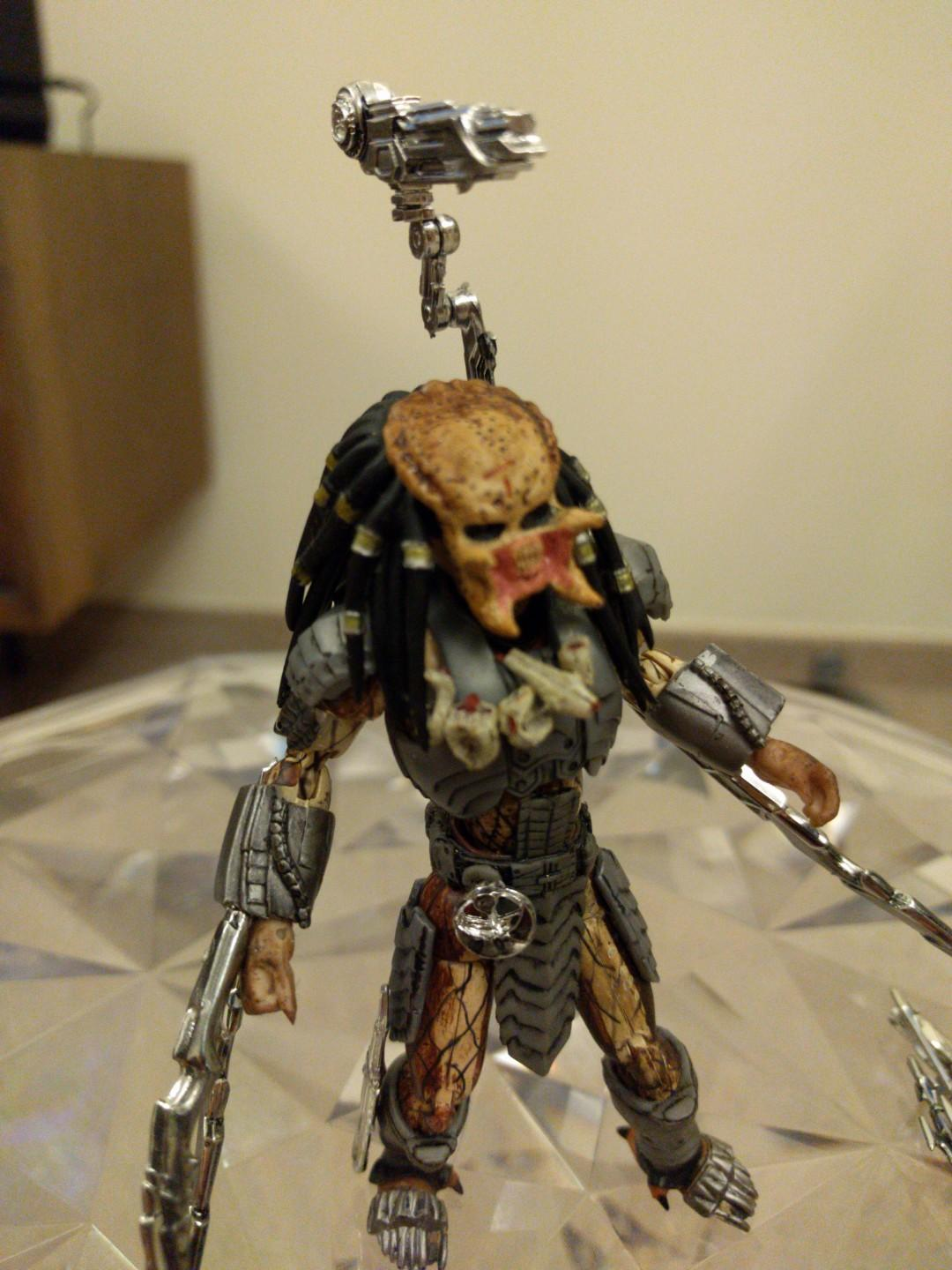 Microman Action Series AVP Predator