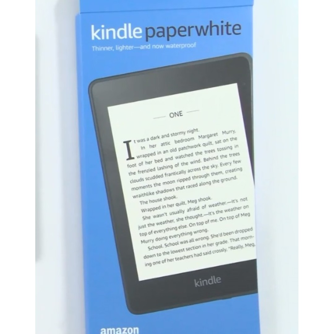 NEW Amazon Kindle Paperwhite (2018 Model) LATEST WiFi Version with Special  Offers / Ads NEW SEALED IN BOX